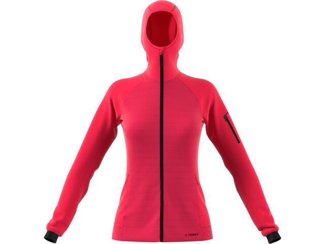 adidas TERREX Stockhorn Kapuzenjacke Damen active pink